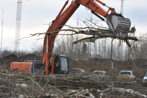 Heavy Equipment Construction - Track Hoe